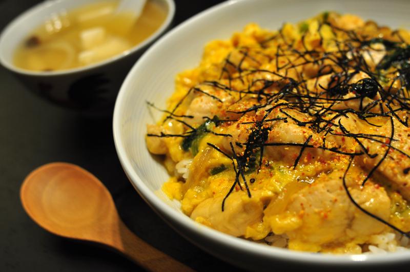 《男の料理》- 親子丼