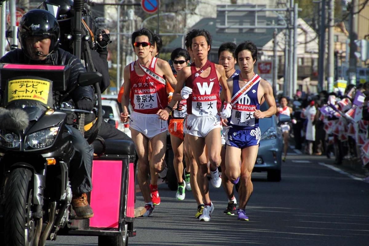 箱根驛傳與日本馬拉松﹣《AM730》11/1