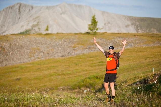 Steen去年參加42公里賽事。圖片來源︰ms2s.dk