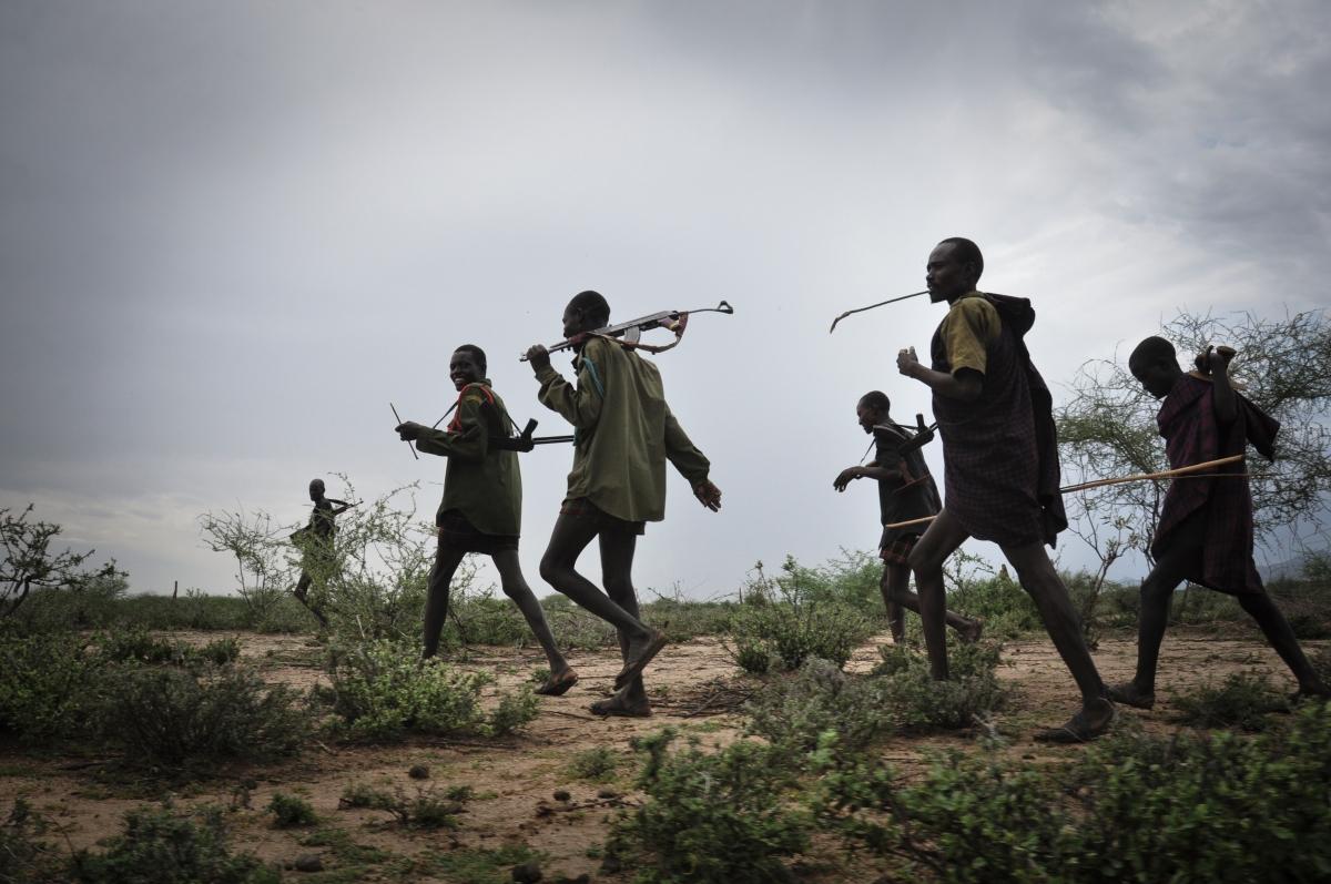 《Gun Runners》——為生活而放下槍械的跑步故事